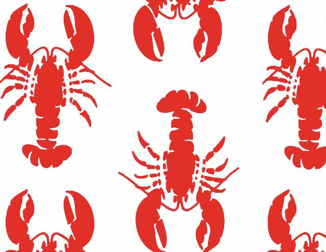 Lobster Fest Red/Navy
