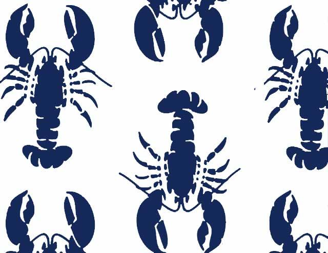 Lobster Fest Navy/Kelly