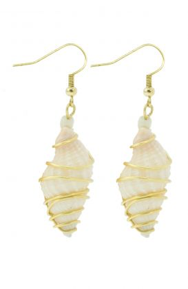 """Seaside Shell"" Earrings"