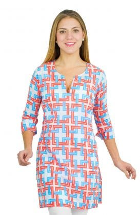 """Mommy & Me"" Mommy Cotton Tunic - Be Square"