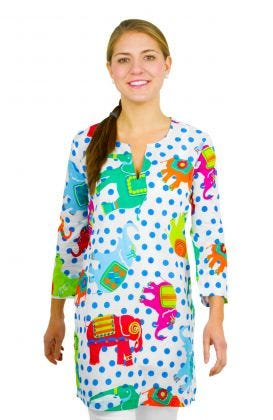 """Mommy & Me"" Mommy Cotton Tunic - Trunk Show"