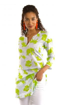 """Mommy & Me"" Mommy Cotton Tunic - Trunk Trunk Goose"