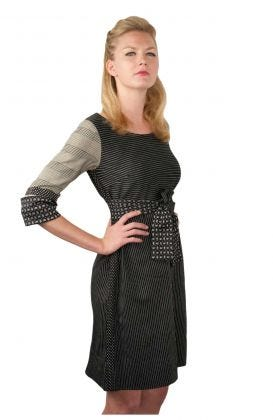Cotton Belted Dress - 9 to 5