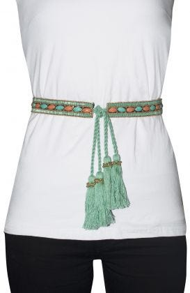 Adjustable Tassel Tie - Sashay
