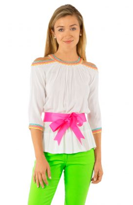 Aphrodite Cold Shoulder Top