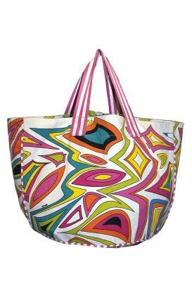 Canvas Beach Bag - Bits 'N' Pieces