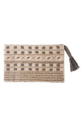 Out & About Beaded Clutch
