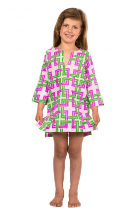 """""""Mommy & Me"""" Girls Cotton Tunic - Be Square"""