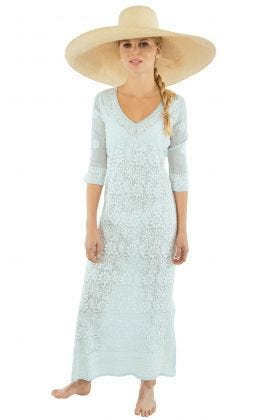 Hand-Embroidered Dress - Copacabana