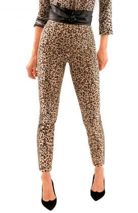 GripeLess Stretch Corduroy Pull on Pants - Cougar