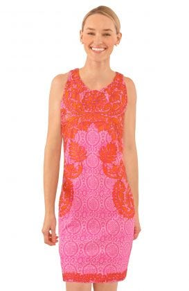 Curacao Embroidered Dress