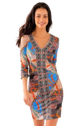 Jersey Bordertown Dress - Ditto