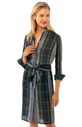 Breezy Blouson Campbell Plaid Dress