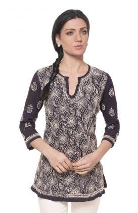 Cotton Hand Embroidered Tunic - East Ender
