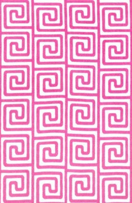 Greek - Pink Fabric
