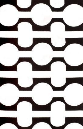 Havana Nights - Black & White Fabric