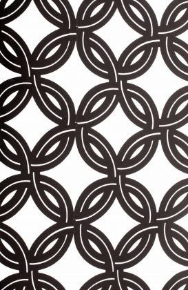 Hula Hoop - Black & White Fabric