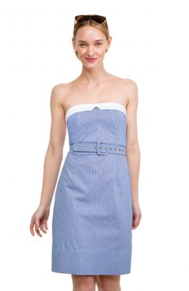 Cotton Spandex Dress - The Galley Gingham