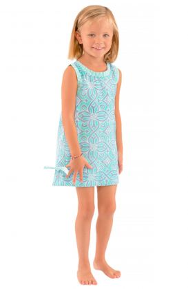 """""""Mommy & Me"""" Girls Cotton Dress - Piazza"""