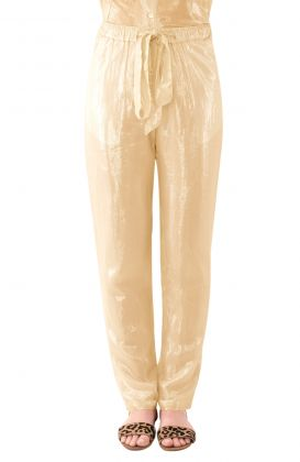 Metallic Trouser - Glinda Lurex