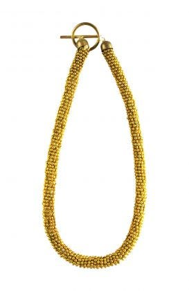 """""""The Coil"""" Toggle Necklace"""