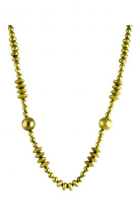 """""""The Athena"""" Long Beaded Necklace"""