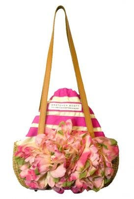 Flowered Basket Purse