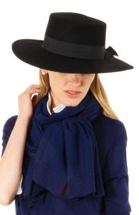 Adjustable Felt Wool Bolero Hat