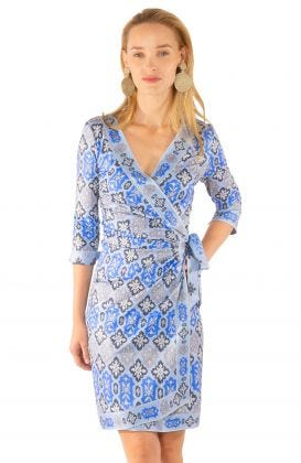 Jersey Wrap It Up Dress - Haveli