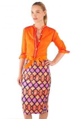 Jersey Pencil Skirt - Haveli