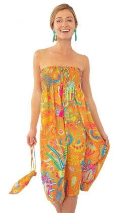 Haight Ashbury Dress/Skirt - Hummingbird Heaven
