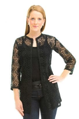Cotton Jacket - Irish Lace