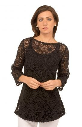 Cotton Swing Top - Irish Lace