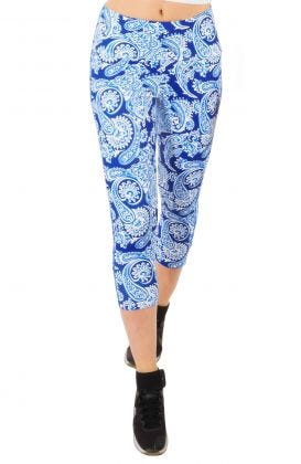 Jock Girl Leggings - Plentiful Paisley