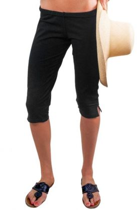 Cotton Lycra Capri Pants