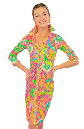 Twist & Shout Dress - Magic Carpet