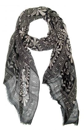 Modal Printed Scarf - Falltime