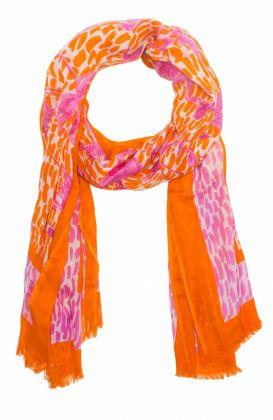 Modal Printed Scarf - Flamingle