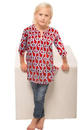 MOMMY & ME TUNIC - BOWLINE CHILD