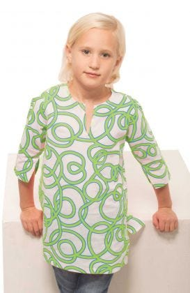 """Mommy & Me"" Girls Cotton Tunic - String Thing"