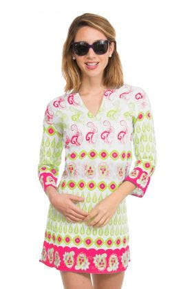 Mommy Cotton Tunic - Notta Paisley