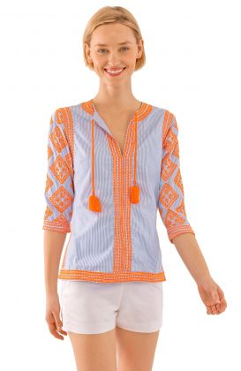 Odessa Embroidered Top