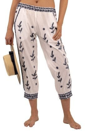 Dynasty Hand Embroidered Pants