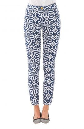 GripeLess Cotton Spandex Jeans - Piazza