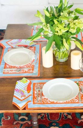 Place Setting - Coral Perfection