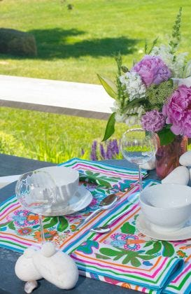 Place Setting - Isabel's Garden