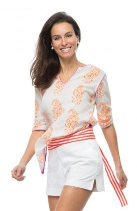 Pop Tunic - Paisley