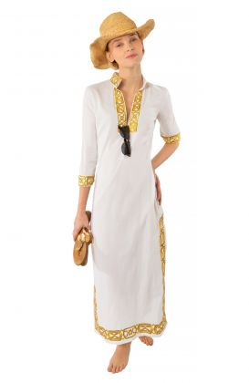 Embroidered Caftan - Rio Gio
