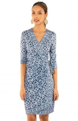 Jersey Wrap It Up Dress - Rio Gio