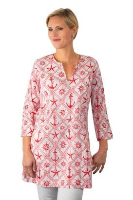 """Mommy & Me"" Mommy Cotton Tunic - See Not"